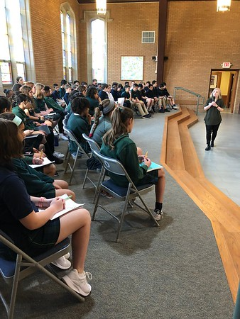 Sixth Grade Poetry Exchange with PASH