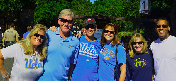UCLA Stanford Football game 2013