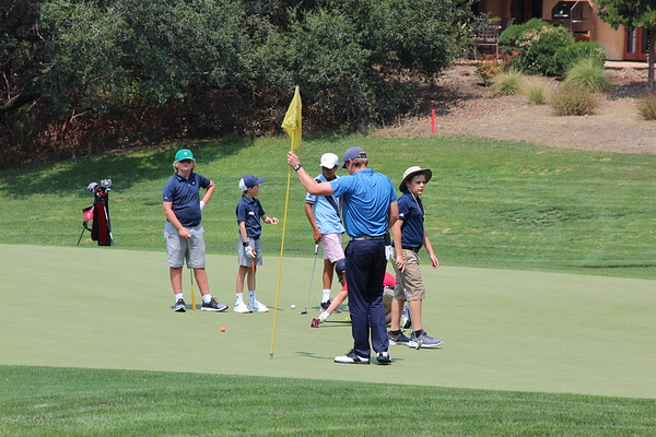 Junior Golf School - August