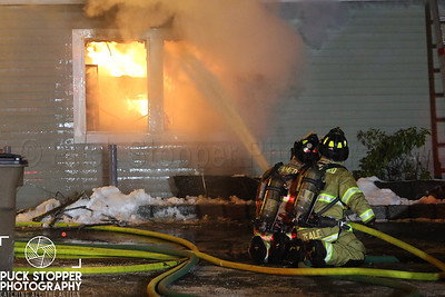 Structure Fire - 33 Grenhart Rd, Stamford, CT - 12/17/17