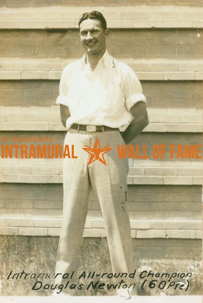 WRESTLING Intramural All-round Champion  Douglas Newton (60 Pts)
