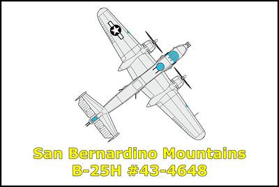 San Bernardino B-25H #43-4648 10/11/19