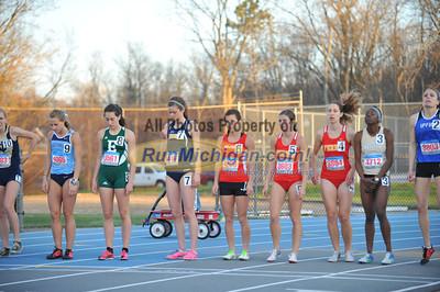 Women's 1500 Championship - 2014 Gina Relays