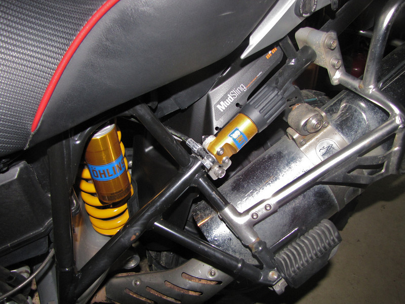New MudSling to keep my Ohlins clean!