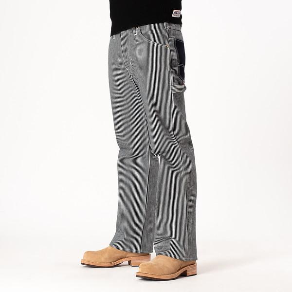 17oz Hickory Stripe Painter's Pants - Indigo-White--3.jpg