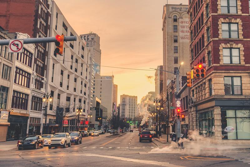 Detroit Sunset