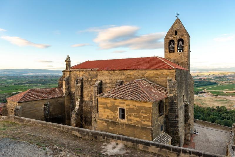 Santa María Church, San Vicente de la Sonsierra