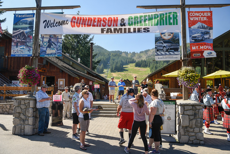 , 2017 Gunderson Family picnic at Ski Bowl, Government Camp