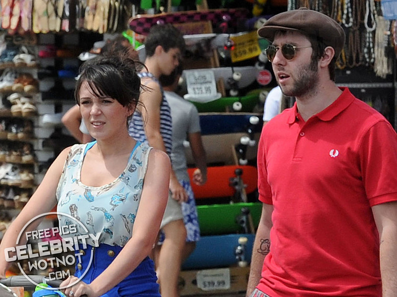 EXCLUSIVE: Inbetweener James Buckley And Wife Clair Meek On Holiday in Los Angeles