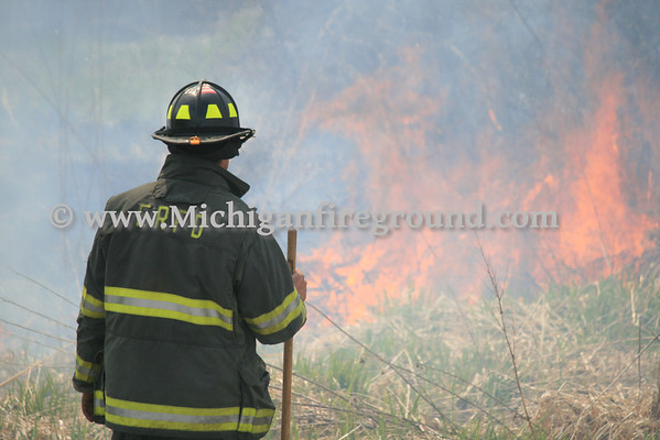 4/27/14 - Eaton Rapids Twp wildland fire training