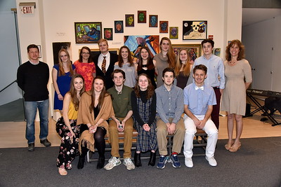 LTS IB Art Exhibit at SVAC photos by Gary Baker