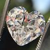 3.47ct Antique Heart Shaped Diamond GIA F SI2 0