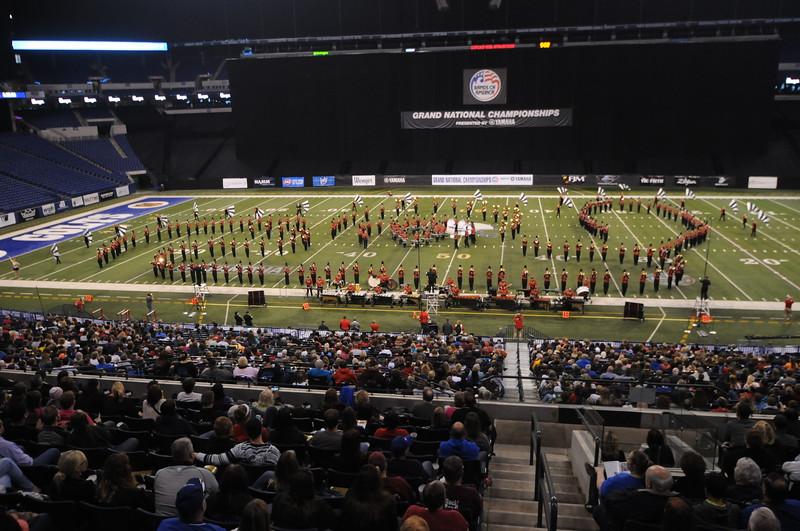 Bands of America, Lucas Stadium, Indianapolis, IN