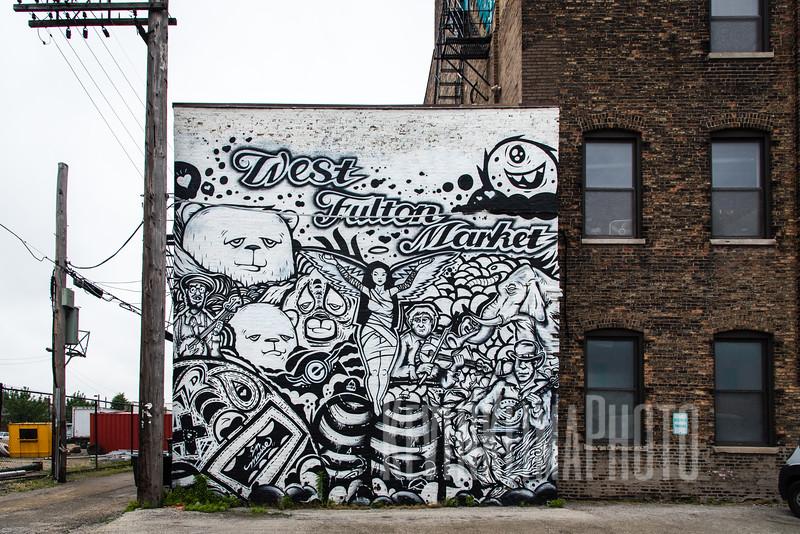 West Fulton Market Street Art Mural