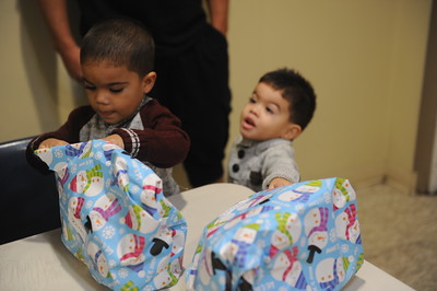 Christmas morning at Haven Ministries