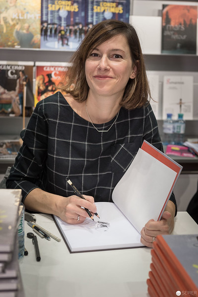 Signierstunde mit Isabelle Arsenault