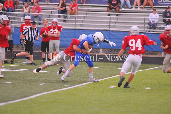 08-07-18 Sports BG vs Defiance FB scrimmage