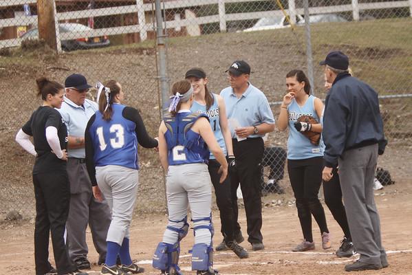 Monticello vs. Sullivan West Softball