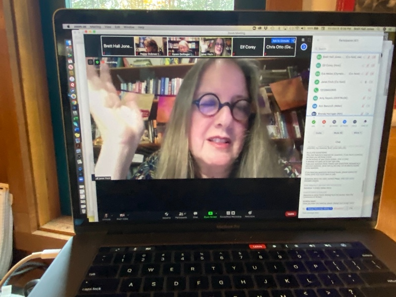 2020 Writing from the Senses with Janet Fitch