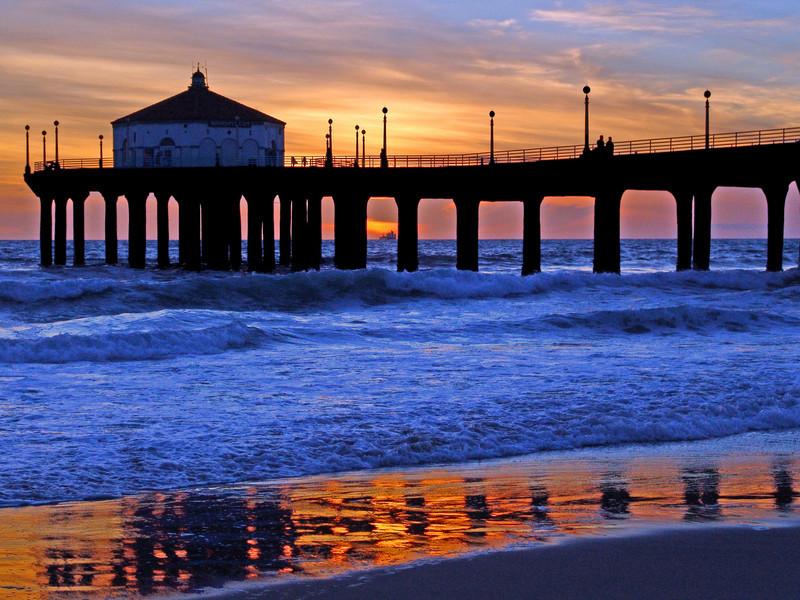 Manhattan Beach Pier - Manhattan Beach, California