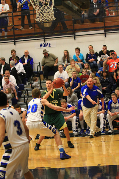 state basketball tournament vs sugar salem 2012