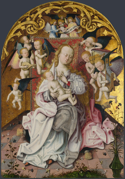 The Virgin and Child with Musical Angels