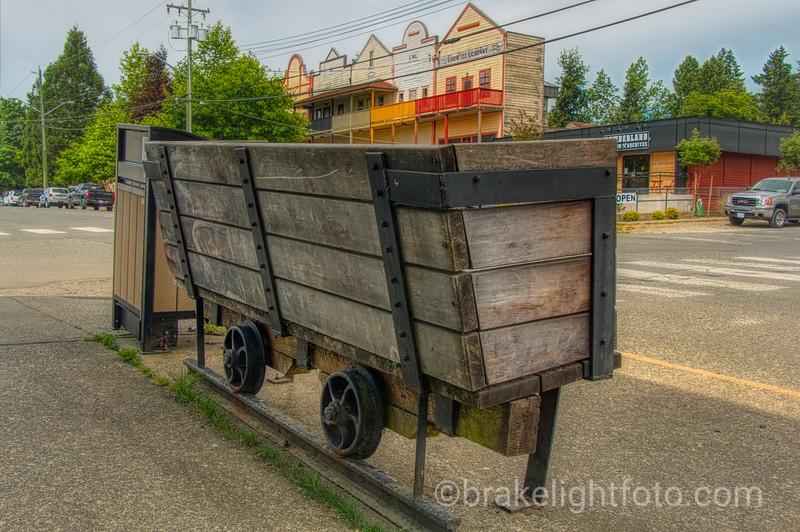 Mining Cart Bench