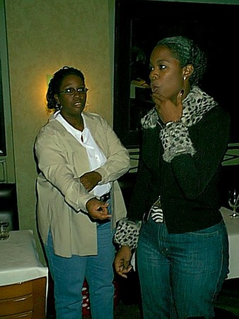 Thanksgiving with Isaac Hayes 2001