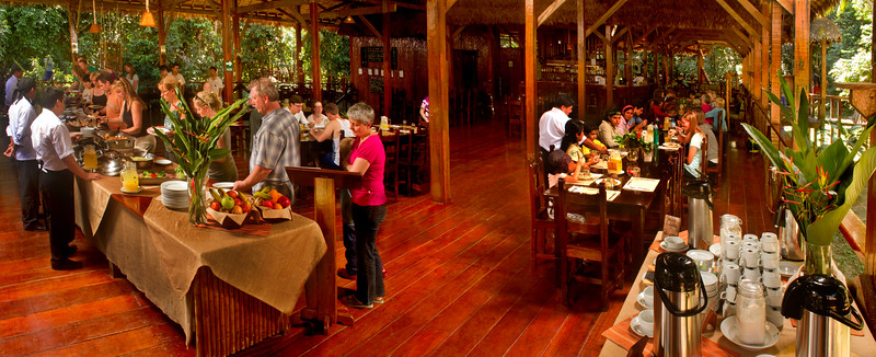 Dining Room Refugio Amazonas