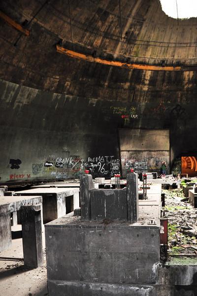 Main generator dome.
