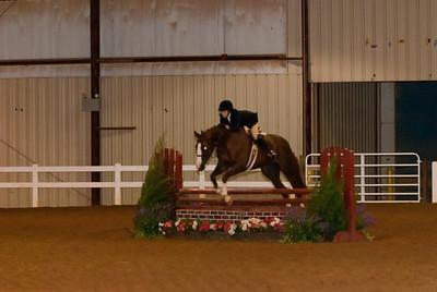 Class 21 - Equitation Over Fences - 3', Horse, Sr. (16-19)