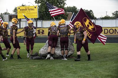 HS Sports - Flat Rock at Riverview Football