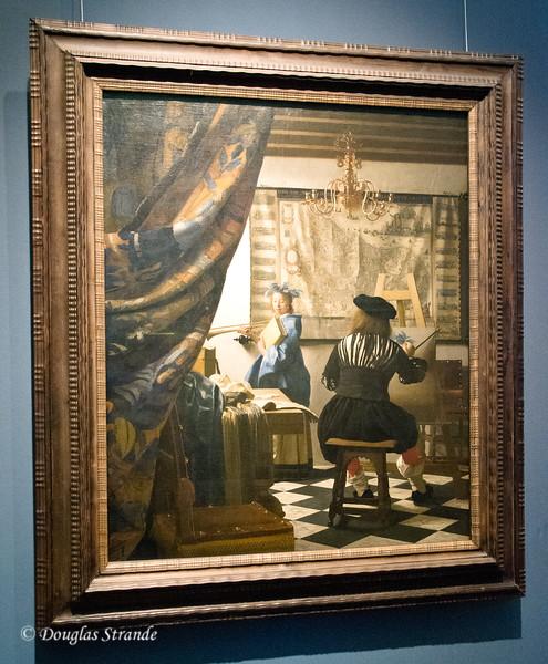Art History Museum, Vienna -- The Painter, Vermeer