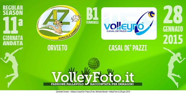 Zambelli Orvieto - Volleyrò Casal De' Pazzi