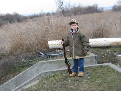 Jakob hunting 1-20-2005