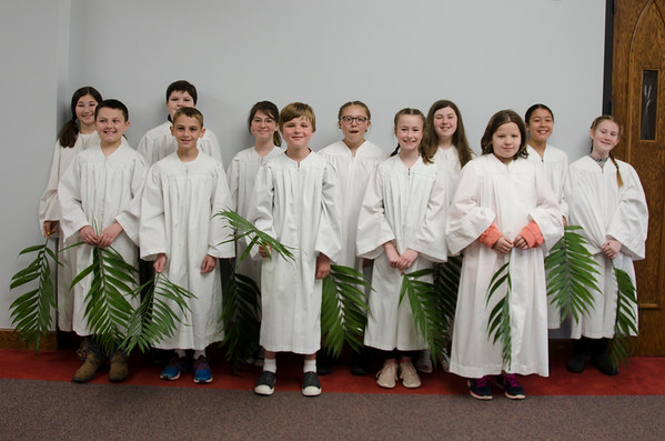 2019 Pastors Class Baptisms
