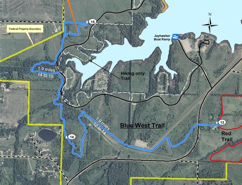 Hillsdale State Park (Blue West Trail)