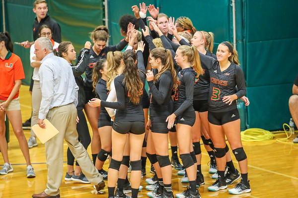 University of Miami Volleyball vs. Pittsburgh, 2017