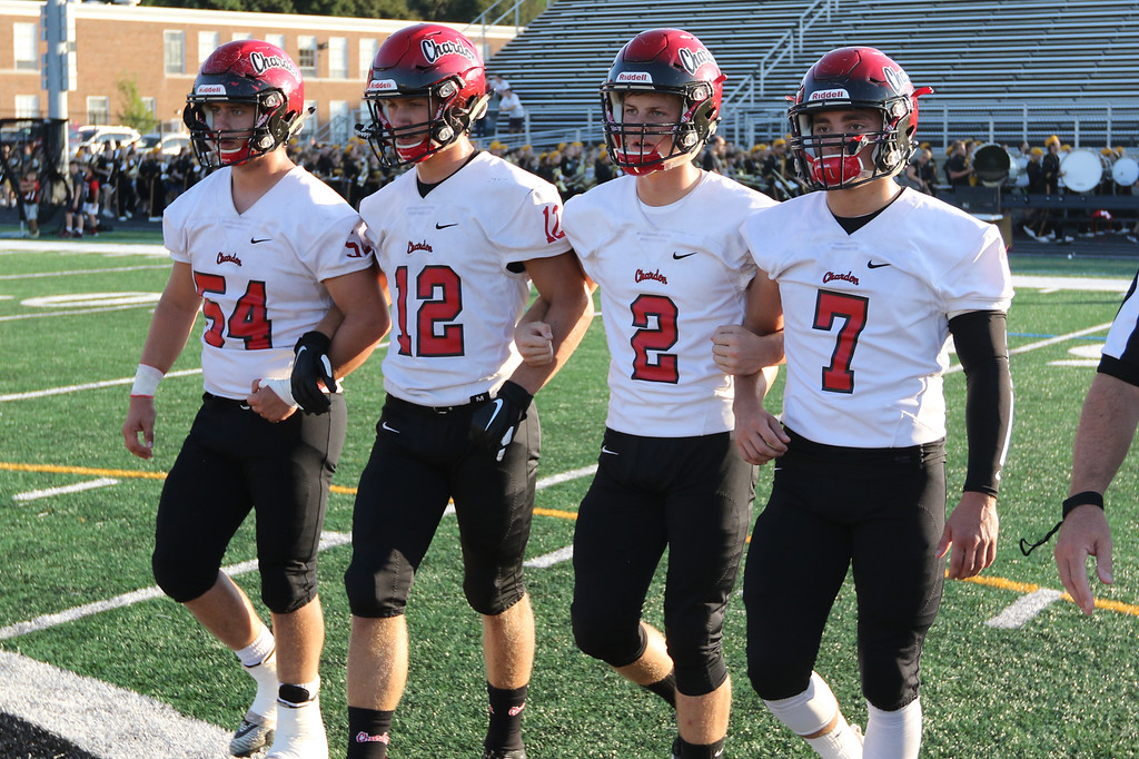 . 2018 - Football - Chardon at Riverside.  Riverside defeated Chardon 28 - 27.
