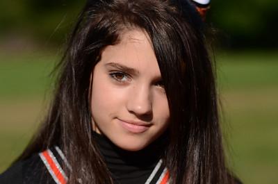 2011-12 Freshman Cheerleaders - 10/6/11