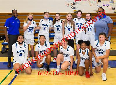 2-26-2021 - Xavier vs Basha - JV Girls Basketball
