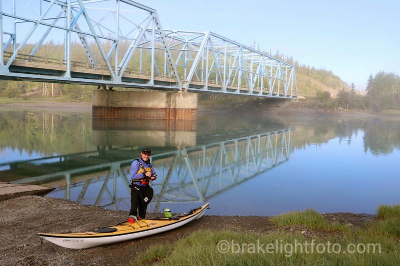 Put in at the Yukon River Bridge