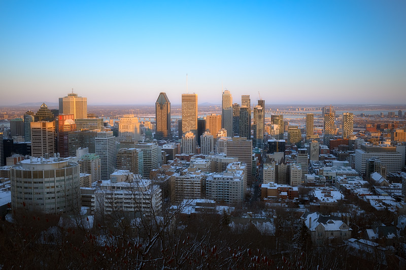 Montreal from Mont Real