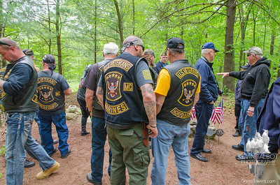 B-24 Crash-site Ceremony Uxbridge, Massachusetts 5-21-17