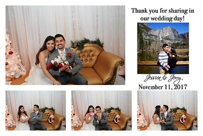 Jessica & Jerry's Wedding PhotoBooth
