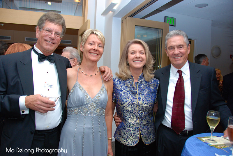 Richard Kalish, Denise Kendall and Becky and Mac Cranford