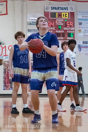 Broughton boys varsity basketball vs Sanderson. February 12, 2019. 750_6453
