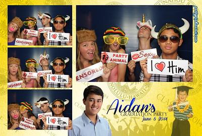 Aidan's Graduation (Luxury Photo Pod)