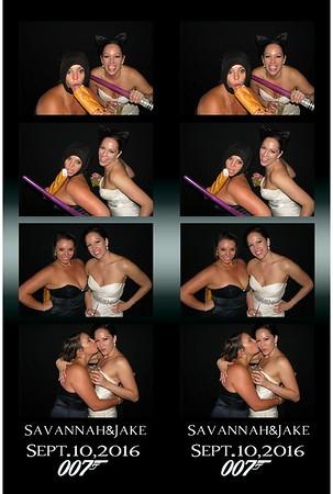 Jake and Savannah's Wedding 9-10-16