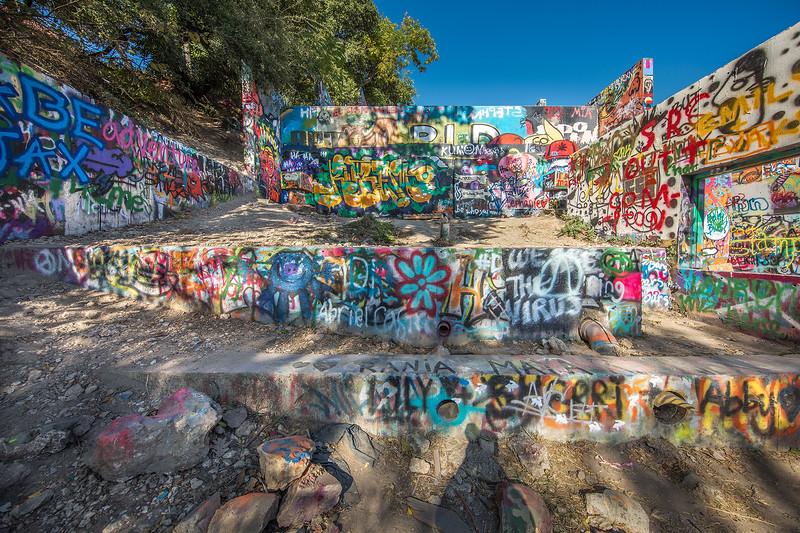 Graffiti Park, Austin.  11-24 mm